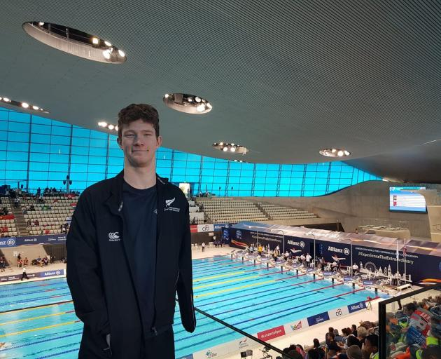 New Zealand swimmer, Celyn Edwards has taken out the top prize at the Hillmorton High School...