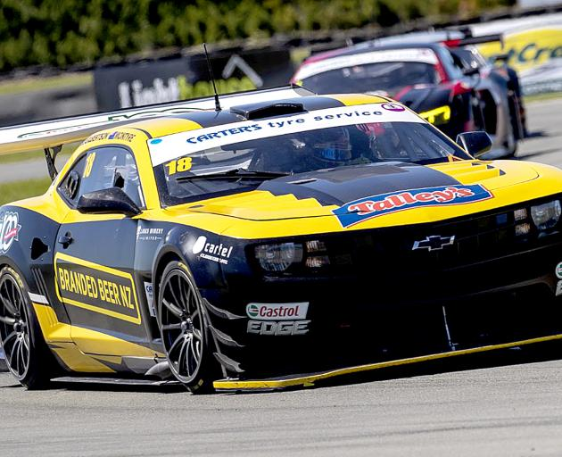 The Chevrolet Camaro GT3 of John McIntrye and Simon Gilbertson is expected to be amongst the...