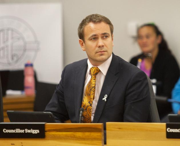 Cr Deon Swiggs was a no-show at Tuesday's council meeting. Photo: Geoff Sloan