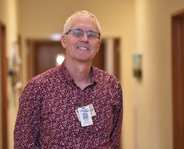 Southern District Health Board medical oncology clinical director Blair McLaren is keen to apply...