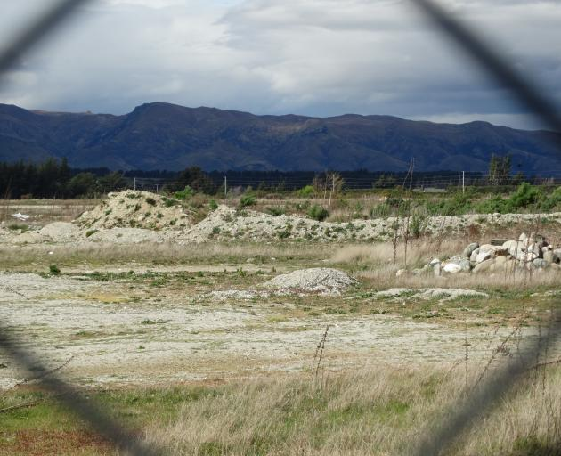 The old oxidation ponds in Ballantyne Rd, Wanaka, are earmarked for recreation. Photo: Mark Price
