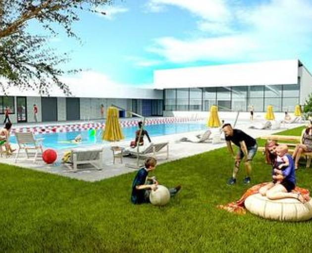 ARTISTS IMPRESSION: The designs for Edgeware pool will be assessed in a feasibility study, and...