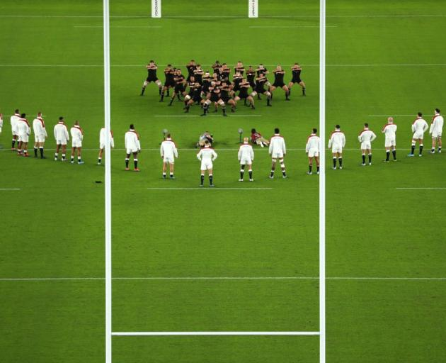 England were fined for going over halfway in its response to the All Blacks haka in the Rugby...