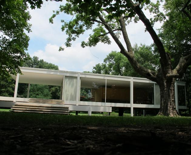 Mies van der Rohe's Farnsworth House. PHOTO: WIKIMEDIA COMMONS