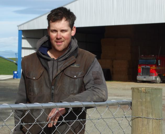 Glenavy-Waimate Young Farmers Club chairman and Multi Ag co-owner Scott Wilson says people in the farming sector should not be afraid to speak out if they are struggling. PHOTO: DANIEL BIRCHFIELD