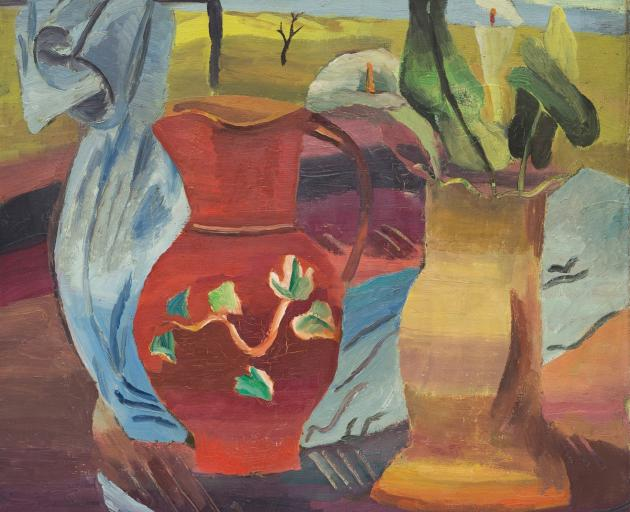Frances  Hodgkins' Red Jug, 1931