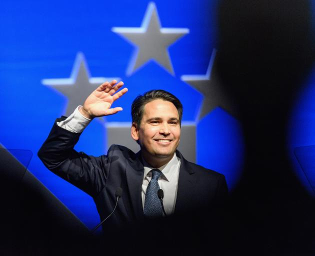 National leader Simon Bridges has crept up to 6.5% in the preferred Prime Minister stakes. Photo:...