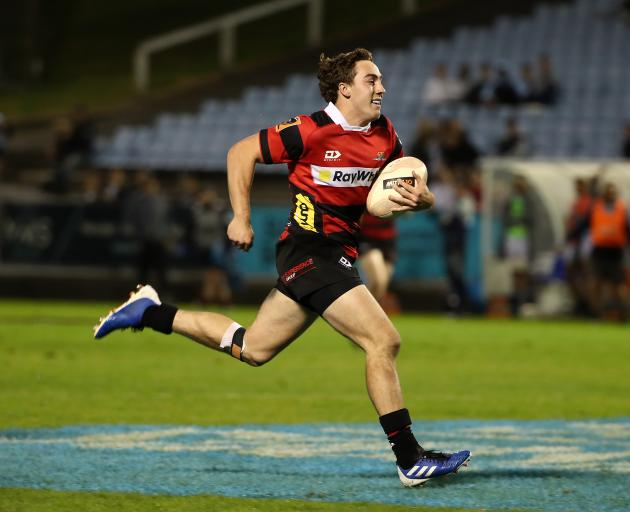 Josh McKay has been in red-hot try-scoring form in the Mitre 10 Cup. Photo: Getty Images