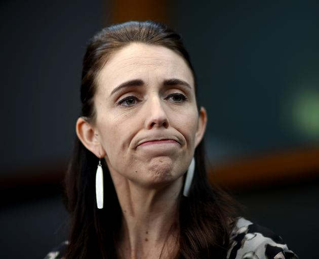 Prime Minister Jacinda Ardern has also dropped in preferred PM stakes. Photo: Getty Images