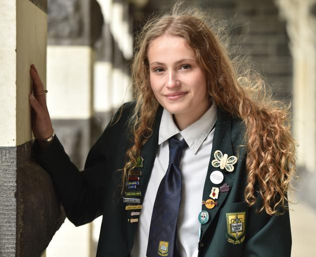 Going overseas for both costume design and acting is River Charteris-Wright (16).