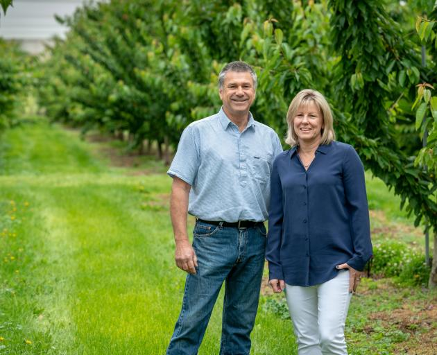 Ross and Sharon Kirk of Hortinvest. PHOTO: SUPPLIED
