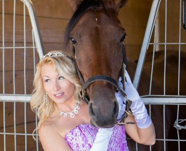United States harness racing personality Heather Vitale plans to attend the Kaikoura Cup race meeting. Photo: Supplied