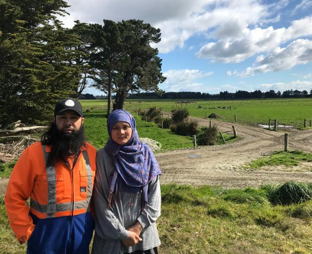 Reza and Silvia Abdul-Jabbar own two dairy farms and three run-off blocks near Waituna Lagoon. Photo: Luisa Girao