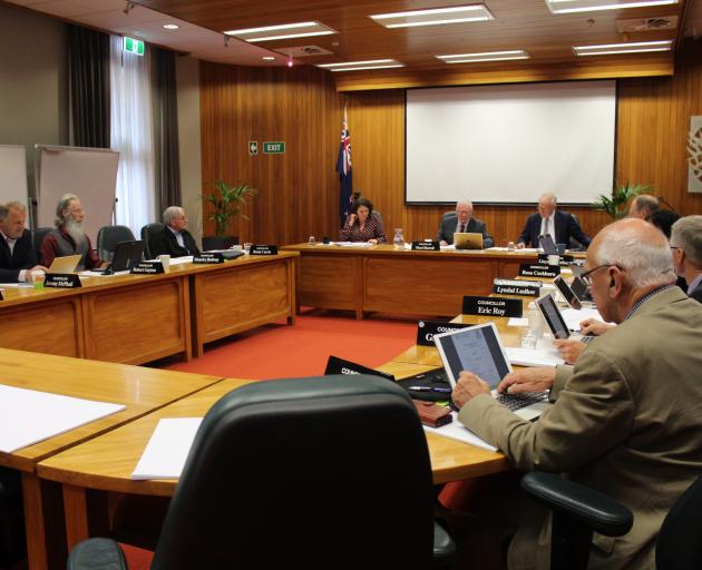 The last full council meeting for Environment Southland was held yesterday in Invercargill. Photo: Laura Smith