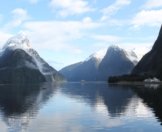 A pay-by-plate system has been installed in the Milford Sound car park to encourage visitors to...