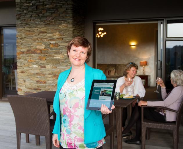 Julia Anne has organised a bed tax public debate in Dunedin tonight. Photo: Supplied