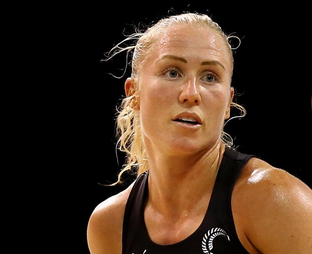 Silver Ferns skipper Laura Langman. Photo: Getty Images