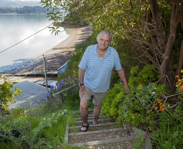 Ex-Merchant Navy Captain Malcolm Pearson, 89, has swum at Paradise Beach for 30 years. However,...