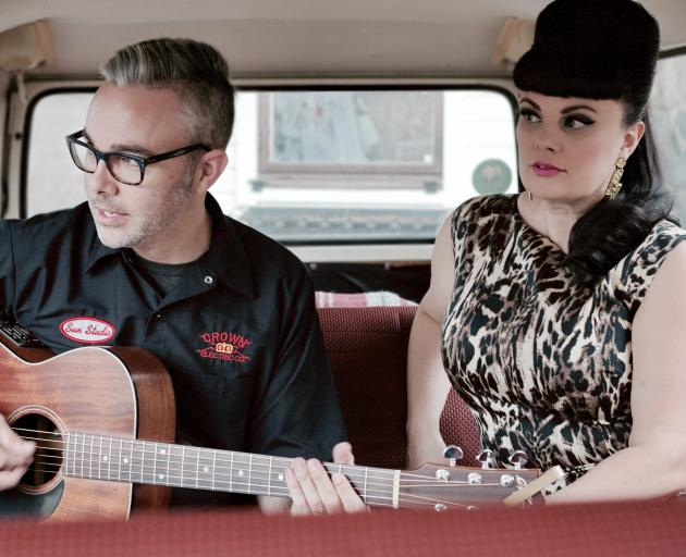 Siblings Jay and Tami Neilson are hitting the road this month. Photo: Supplied