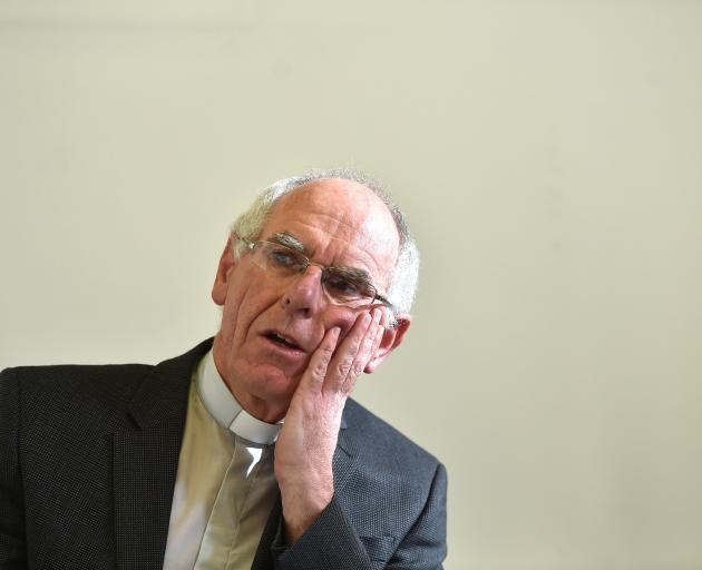 Bishop Michael Dooley.. Photo: Gregor Richardson