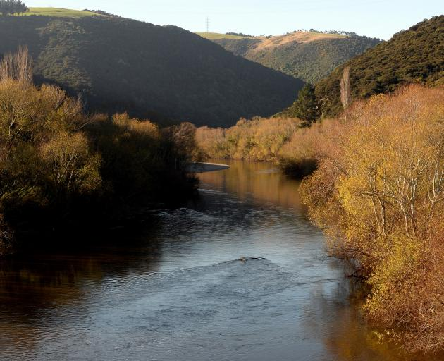 The Taieri River at Outram Glen. PHOTO: LINDA ROBERTSON