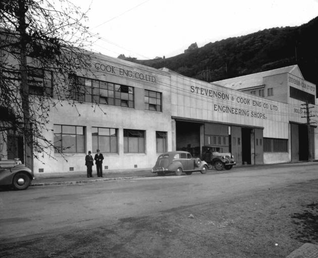 This image from the past shows the view of the wider complex. Photos: Port Chalmers Maritime...