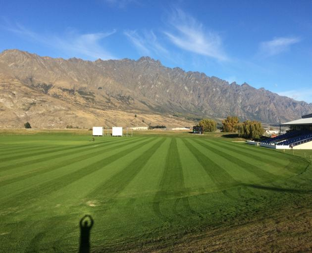 Queenstown Events Centre's Sir John Davies Oval. Photo: Supplied