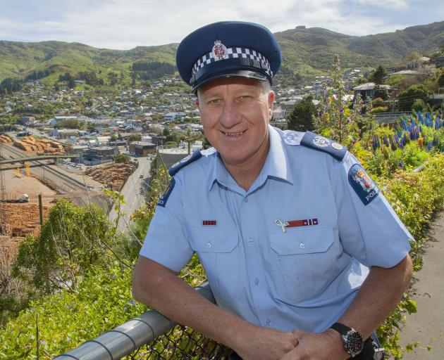 POLICING: Senior Sergeant Roy Appley says having five dedicated officers in Lyttelton means they are able to follow up on things that are continually happening.