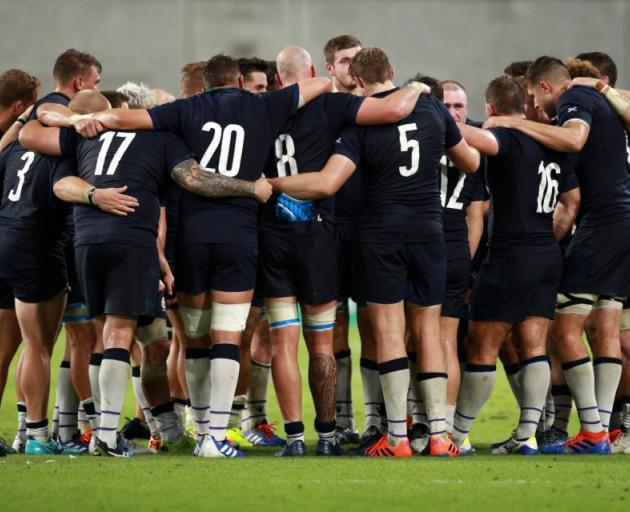 Scotland are not worried about poor conditions this weekend. Photo: Getty Images