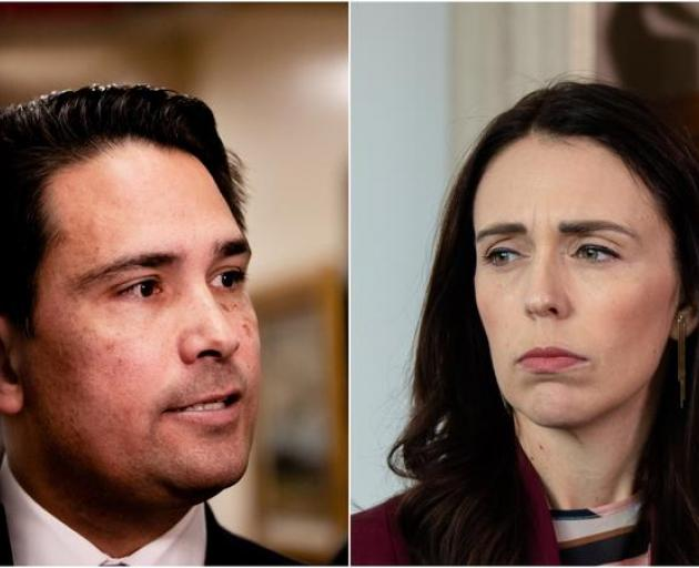Opposition Leader Simon Bridges is challenging the decision being defended by the PM. Photo: ODT...
