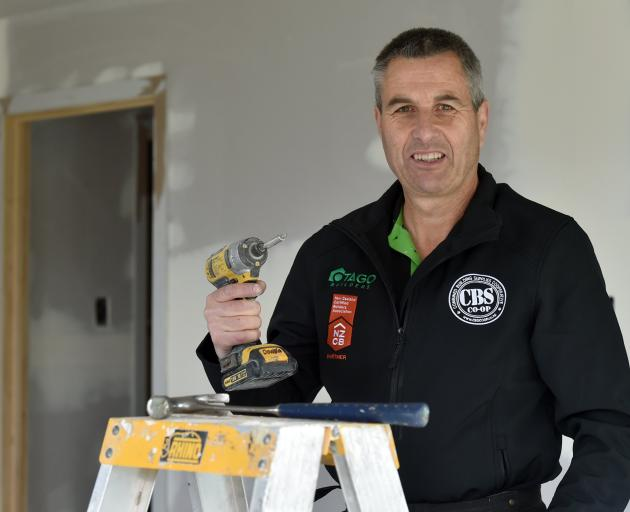 Dunedin builder Steve Stewart. PHOTO: PETER MCINTOSH