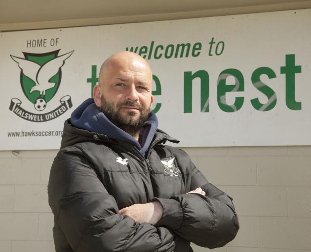Stuart Kelly hopes to take Halswell United back to the Mainland Premier League. PHOTO: GEOFF SLOAN