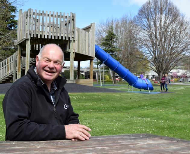 Festival of The Plain chairman Ian Chalmers is moving Party in the Park from Peter Johnstone Park to the Mosgiel Memorial Gardens. PHOTO: SHAWN MCAVINUE