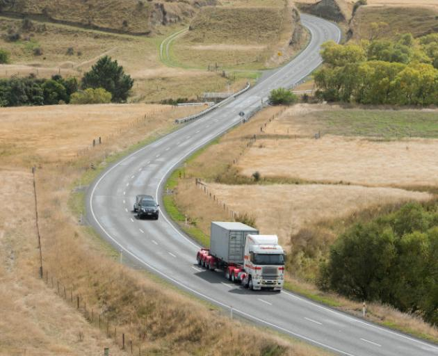 NZTA has finished a number of upgrades on State Highway 7 between Waipara and Waikari. Photo: NZTA