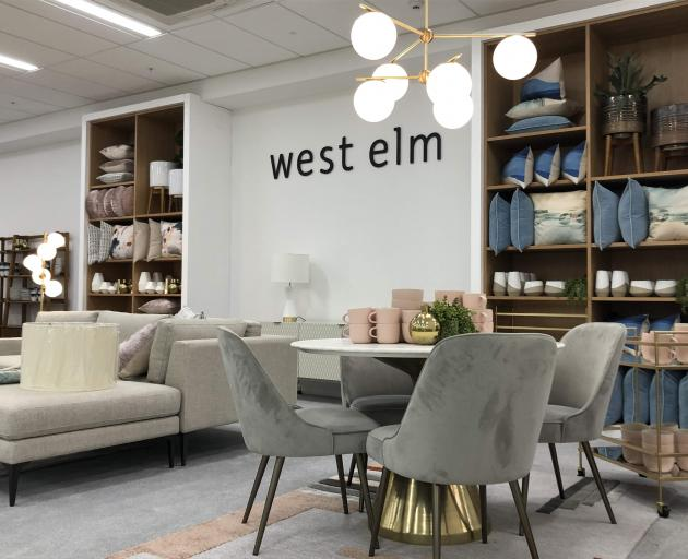 West Elm at Ballantynes. Photo; Supplied