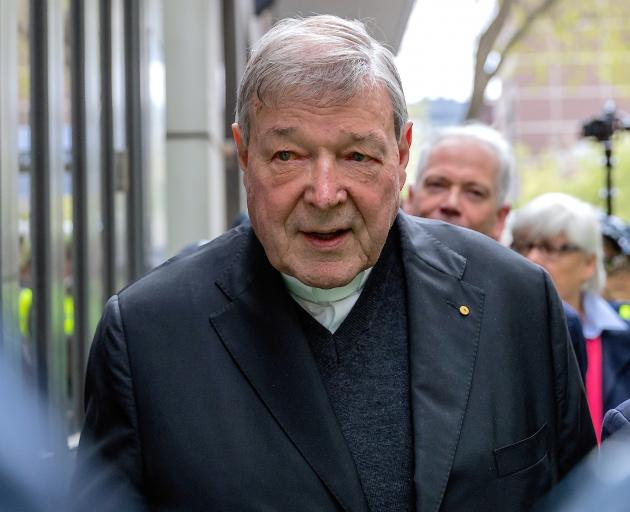 Cardinal George Pell is considering appealing to the High Court. Photo: Reuters