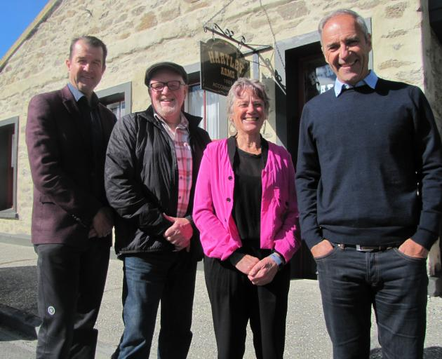 Long-serving Central Lakes Trust trustees (from left) Greg Wilkinson, Malcolm Macpherson, Bernie...