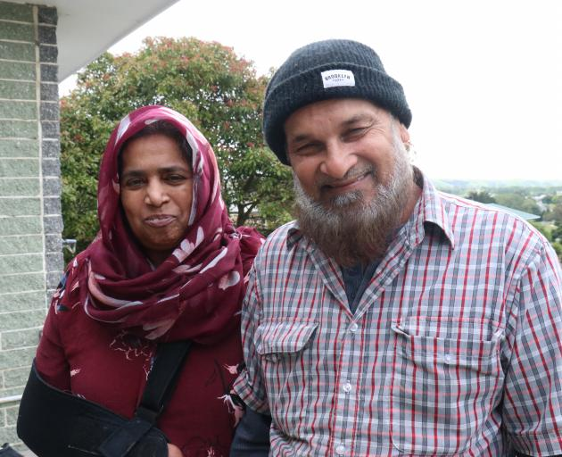 Firoza Begum and Mohammed Kalim may stay in Balclutha. PHOTO: JACK CONROY