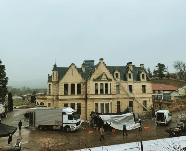 Black Christmas producer Adam Hendricks called this Campbell Park Estate building a ''spooky ol ...