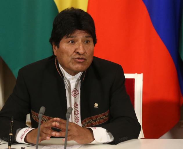 Bolivian President Evo Morales has resigned. Photo: Getty Images