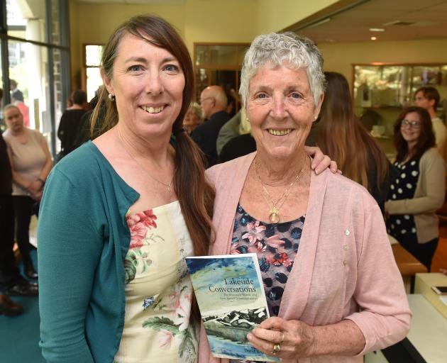 Helen Jack and her mother, Alison Grant, with Lakeside Conversations, col
