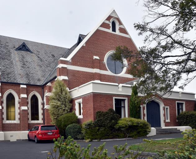 Maori Hill Presbyterian Church, in Drivers Rd. PHOTO PETER MCINTOSH
