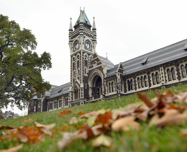 The University of Otago clock tower  is  an  icon for civic  tourism and  pride. PHOTO: ODT FILES