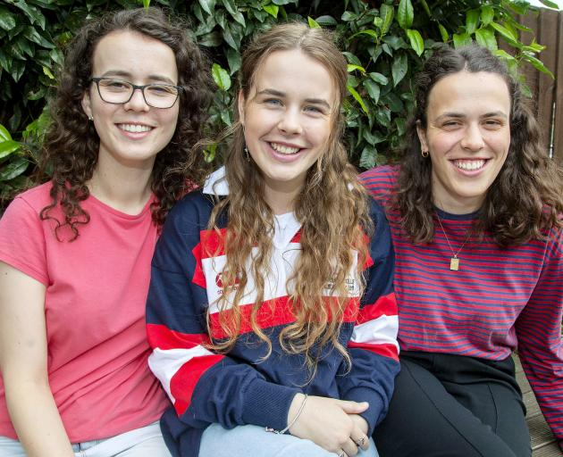 (From left to right) - Elizabeth, Rebecca and Hannah Everingham were all named dux during their...
