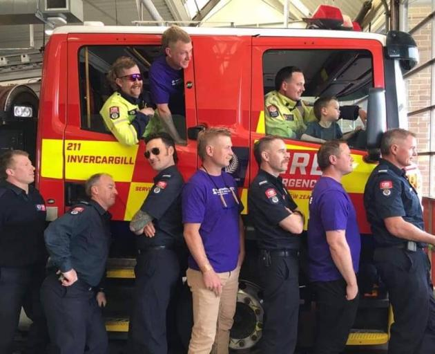 Since Invercargill firefighters started growing mullets as a visual and conspicuous way of...