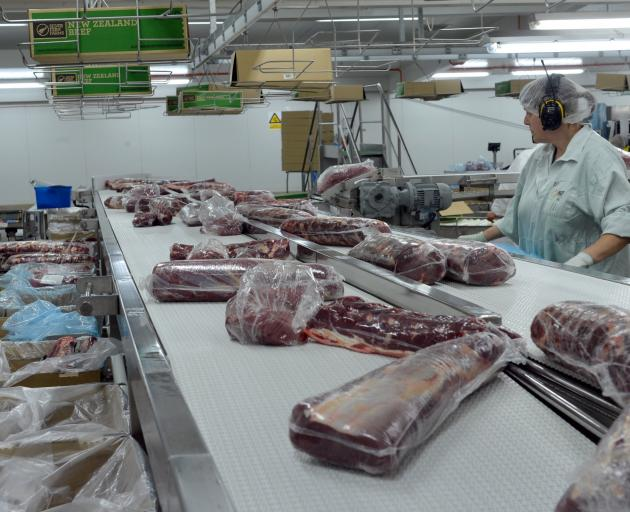 Exports of meat have risen to fever pitch this year, increasing 58% in September, following China's ASF virus. Photo: Stephen Jaquiery