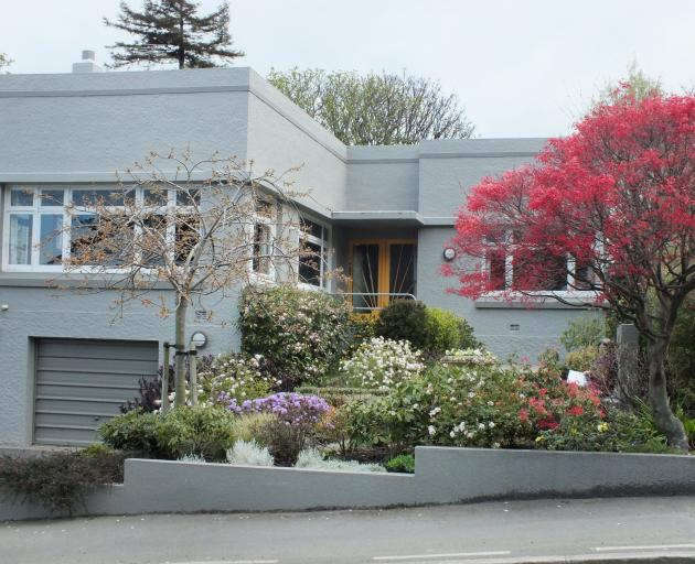 The garden has been redesigned to better fit in with Heather McKenzie's Art Deco house. Photos:...