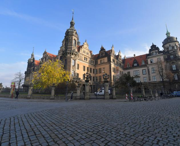 A general view of Green Vault city palace after a robbery in Dresden. Photo: Reuters