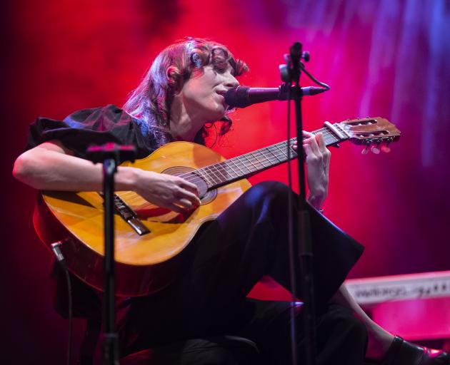 Aldous Harding performs in Spain. Photo: Getty Images