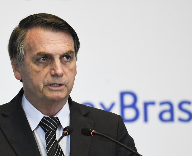 Brazilian President Jair Bolsonaro. Photo: Getty Images